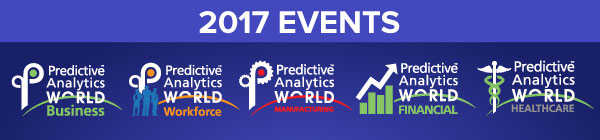 Predictive Analytics World for Business - Predictive Analytics Events in 2017