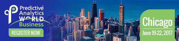 Predictive Analytics World for Business, Chicago – early bird ends May 5