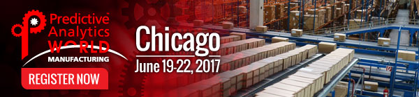 Predictive Analytics World for Manufacturing - PAW for Manufacturing Chicago Needs You