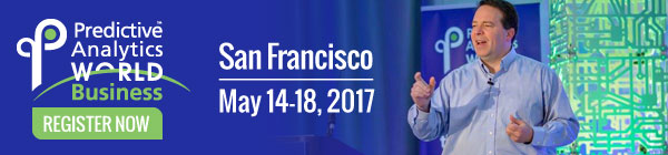 Predictive Analytics World – Learn From Top Practitioners, San Francisco, May 14-18