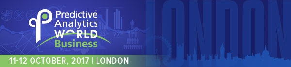 Predictive Analytics World, London, 11-12 October – Agenda is Live