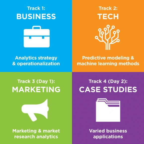 Four Deep Track Themes at Predictive Analytics World, Oct in