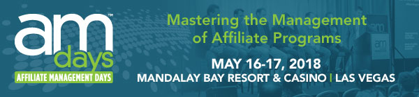 Affiliate Management Days - Registration Now Open for AM Days in Las Vegas