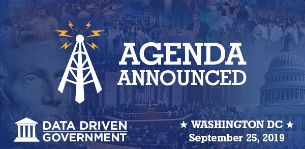 Data Driven Government - News Flash - Agenda Announced!