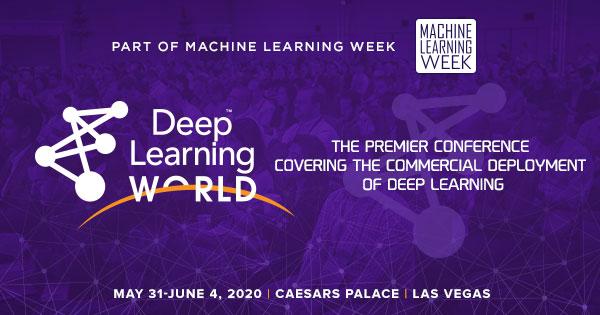 Deep Learning World - DLW 2020 Agenda Live