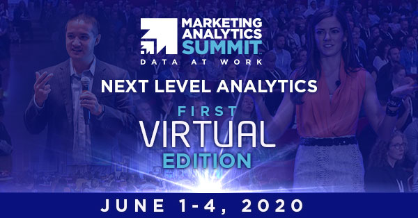 Marketing Analytics Summit - We go virtual!