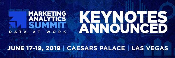 Marketing Analytics Summit - Marketing Analytics Summit Las Vegas Keynotes Announced