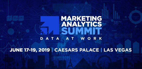 Marketing Analytics Summit - It's never too soon to get a jump on the inevitable..