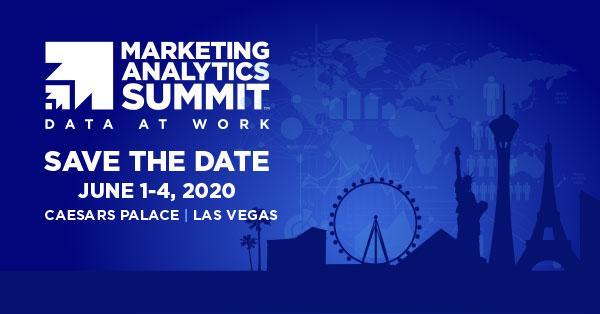 Marketing Analytics Summit - Apply to speak by December 31st