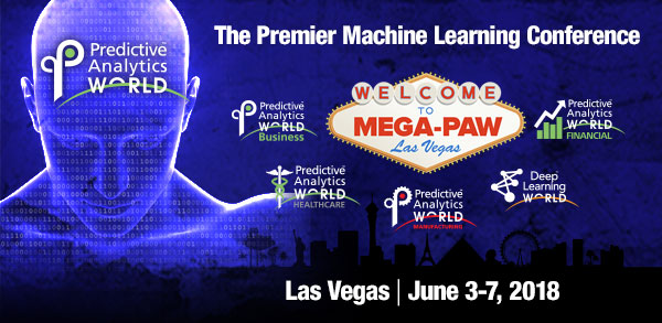 Predictive Analytics World - Great Price for Mega-PAW Vegas – Ending Next Week