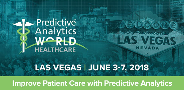 Predictive Analytics World for Healthcare - Breaking — PAW Healthcare 2018 Agenda Is Now Live