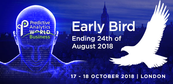 Predictive Analytics World for Business - Don't Miss the Deadline for Early Bird Savings!
