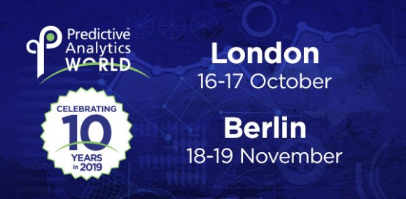 Predictive Analytics World for Business - Join the 10th Anniversary of the premier machine learning conference in London!